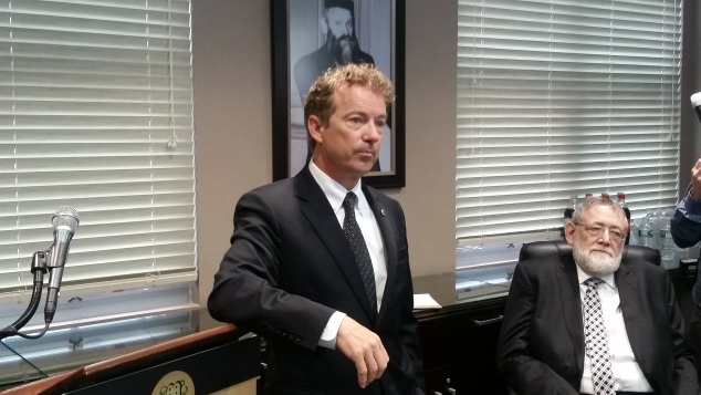 Sen. Rand Paul. (Photo: Ross Barkan/New York Observer)