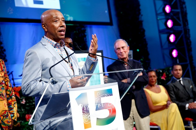 Russell Simmons at the 15th annual Art for Life Gala (Getty Image)