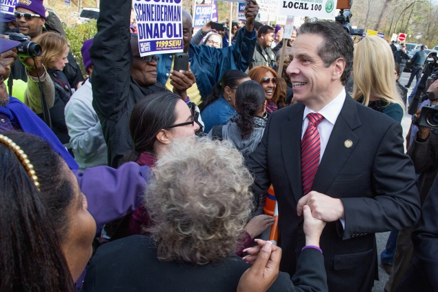 Gov. Andrew Cuomo. (Photo: Kenneth Gabrielsen/Getty Images)