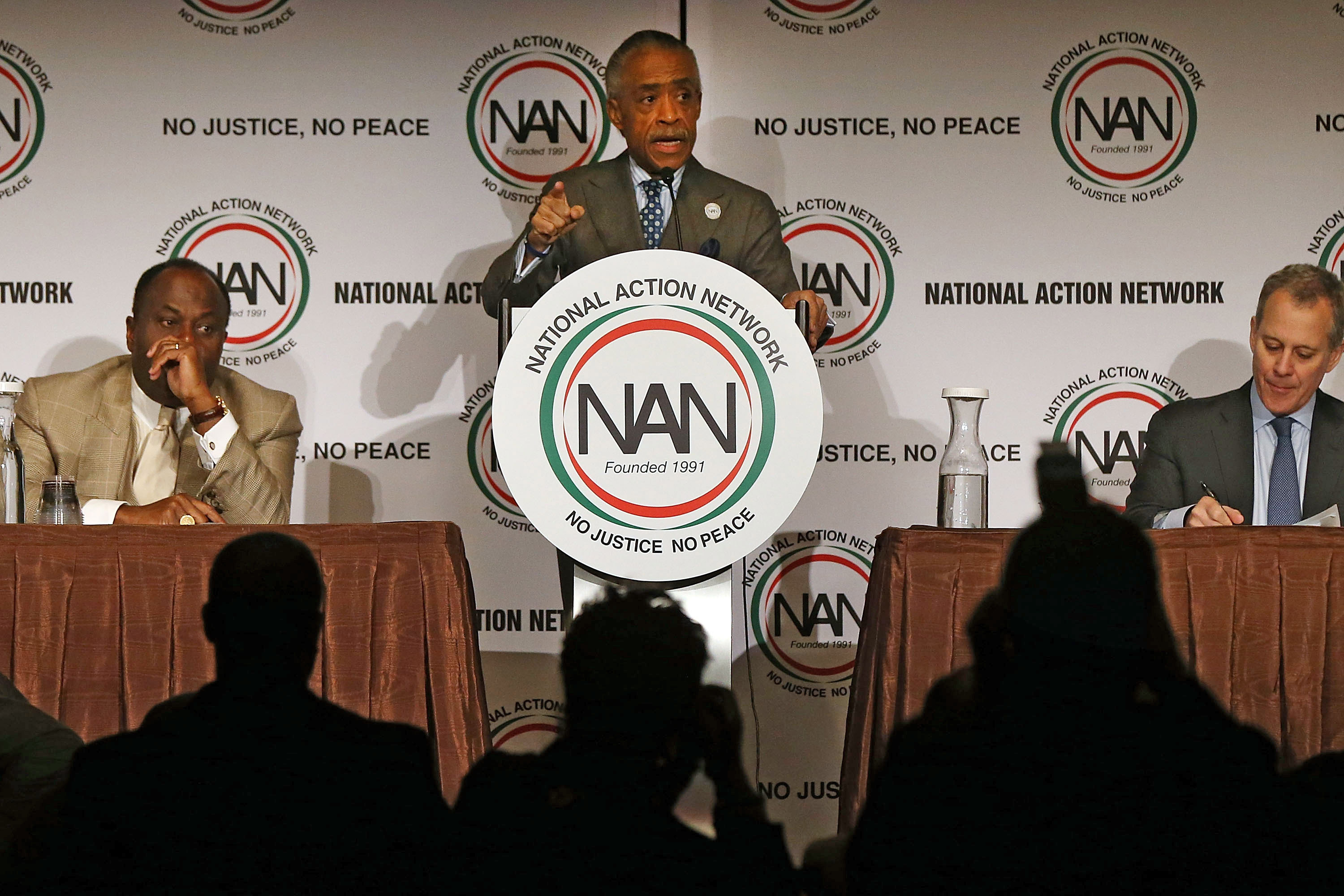 Rev. Al Sharpton at a National Action Network event earlier this year. (Photo by Spencer Platt/Getty Images)
