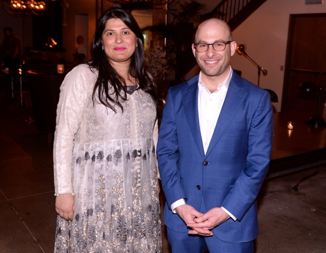 Ms. Obaid-Chinoy and Mr.  Schocken. (Photo: Getty)