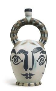 Vase azteque aux quatre visages (A.R. 401), 1957, Christie's upcoming May 5-19 online sale, Est. $50,000-$70,000. Photo: Courtesy of Christie's Images Ltd. 2015