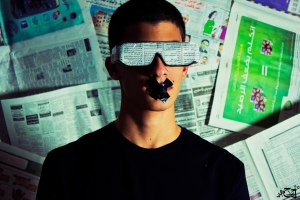 Blinded by journalism (Photo: Ahmad Hammoud/Flickr)
