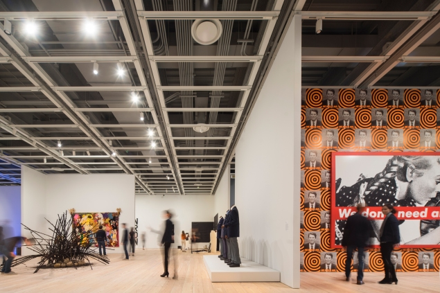 A view inside the Whitney Museum's new location at 99 Gansevoort Street in the Meatpacking District. (Photo: The Whitney Museum of American Art)