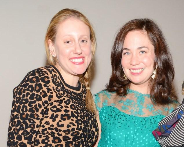 Meredith Rosen and Allegra LaViola. Patrick McMullan/PatrickMcMullan.com