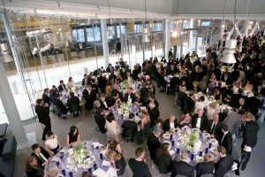 The scene at dinner. (Photo by Jonathan Grassi/PMc)