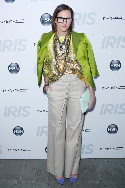 Ms. Lyons at the New York premiere of Iris. (Photo: Patrick McMullan)