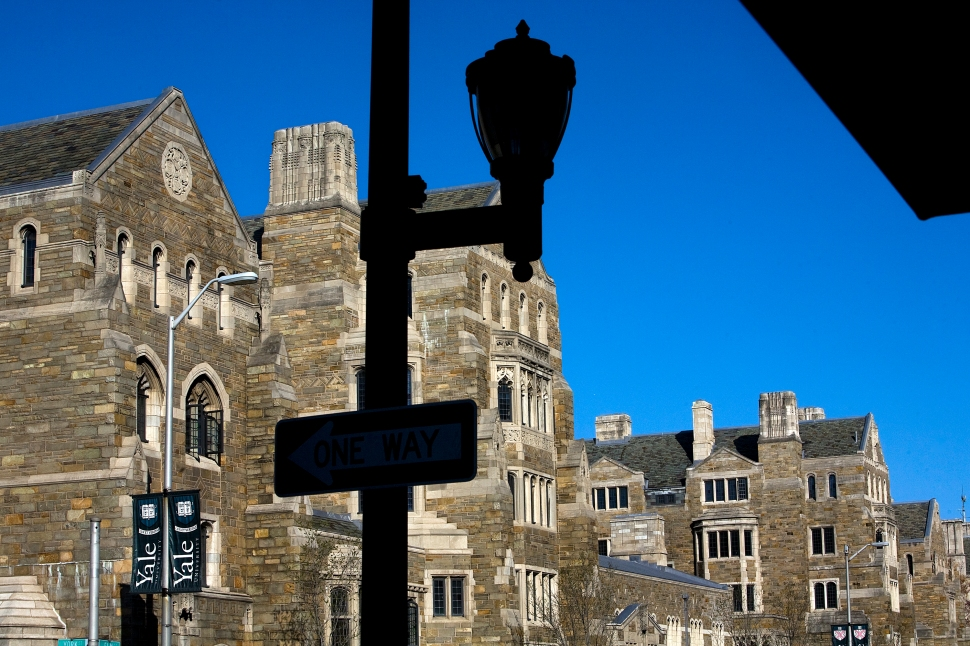 NEW HAVEN, CT - APRIL 15:  Buildings on the campus of Yale University are shown April 15, 2008 in New Haven, Connecticut.  New Haven  boasts many cultural offerings that attract visitors to the city  April 15, 2008 in New Haven, Connecticut.  (Photo by Christopher Capozziello/Getty Images)