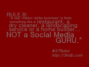 Rule 8 - 37 Rules of Social Media (Photo via Flickr)