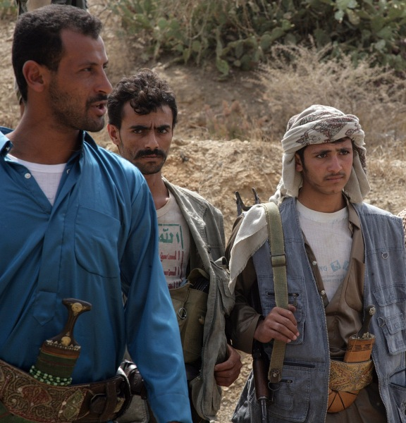 Yemeni Shiite Huthi rebels (Getty Images).