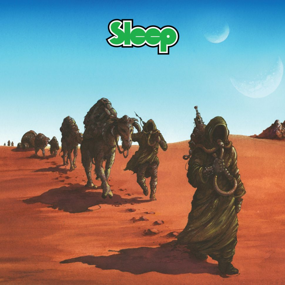 The 2012 re-issue of Sleep's Dopesmoker
