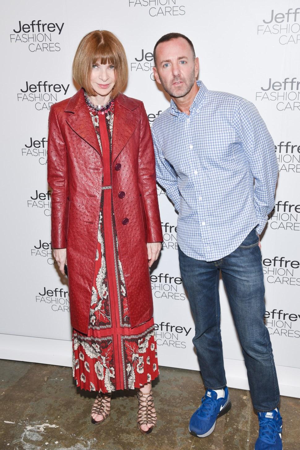 Jeffrey Fashion Cares 2015
