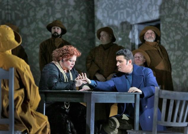 Un Ballo in Maschera. (Photo: Ken Howard/Metropolitan Opera)
