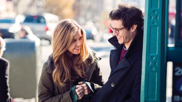 Lisa Joyce and Adam Brody in Billy & Billie. (direcTV)