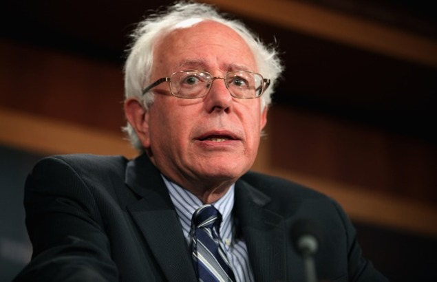 Senator Bernard Sanders. (Photo: Chip Somodevilla/Getty Images)