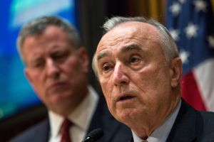 Police Commissioner Bill Bratton remains popular with police; his boss not so much. (Photo: Andrew Burton/Getty Images)