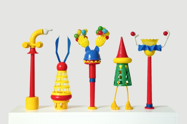 Some of Mr. Canal's toys in Magic Garden, (2015). (Photo: Munch Gallery)