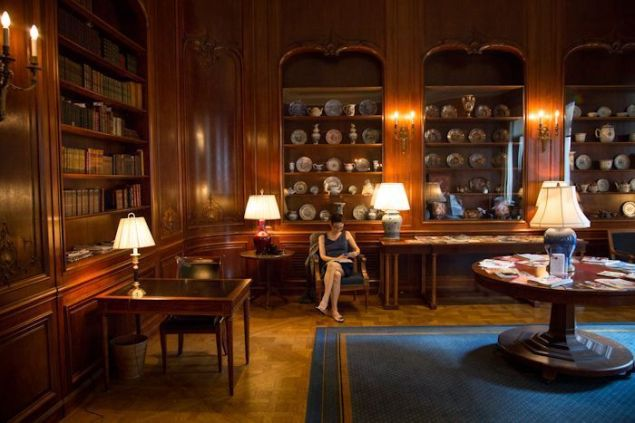 The New York Society Library. (Photo credit: Beth Perkins. Courtesy of The New York Society Library)