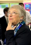 New York City Schools Chancellor Carmen Farina Holds News Conference At A Brooklyn School