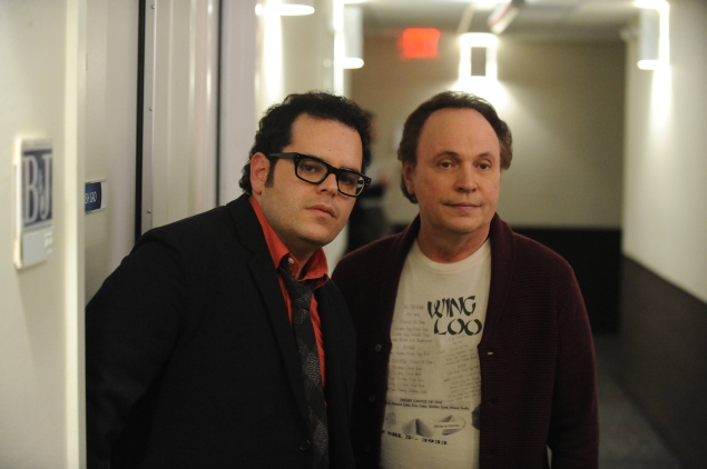 THE COMEDIANS -- Pictured: (L-R) Josh Gad, Billy Crystal. CR: Ray Mickshaw/FX