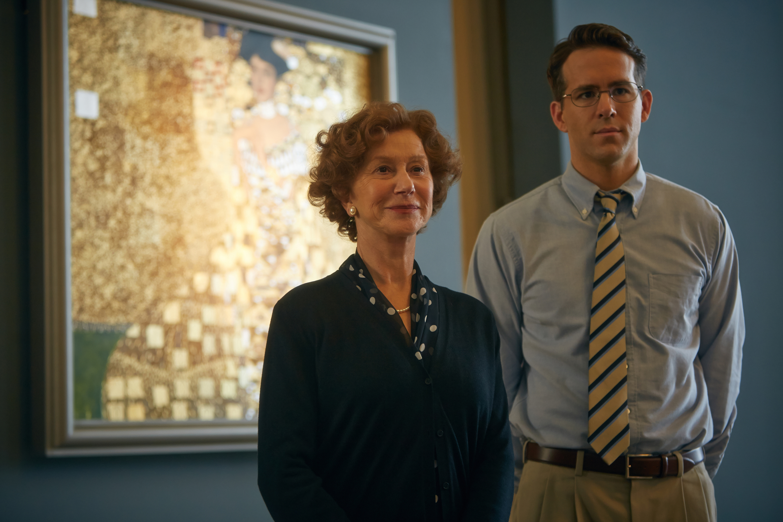 Helen Mirren and Ryan Reynolds star in Woman in Gold.