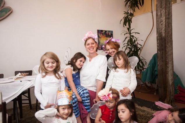 Fairy School Lisa Levine (blonde) and Elyssa Jakim (redhead) are co-founders.