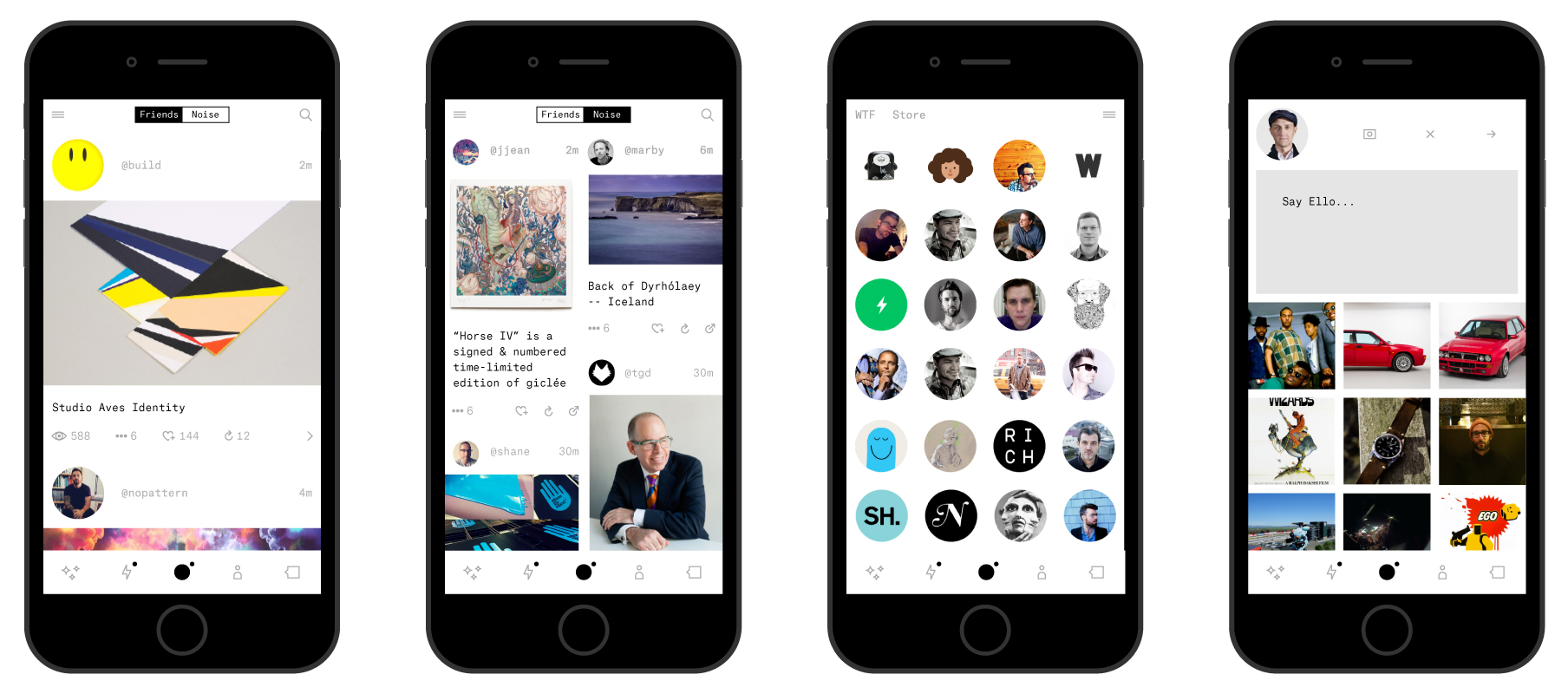 The Ello app will roll out sometime by the end of May. As for the end of invite-only beta? Who knows. (Photo: Ello)