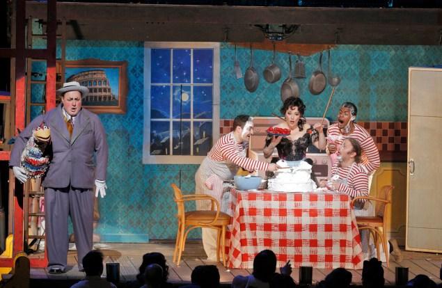 Pagliacci at the Met. (PHOTO: Cory Weaver/Metropolitan Opera)