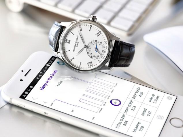 Frederique Constant's smartwatch.