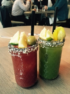 My drink tasted like it was fresh from the juicer. (Photo: The New York Observer/Sage Lazzaro