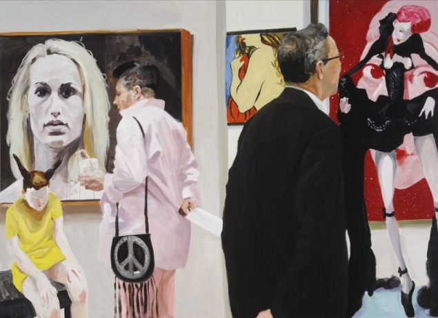 Eric Fischl, Art Fair: Booth #10 Booty, (2014). (Photo: David Noels)