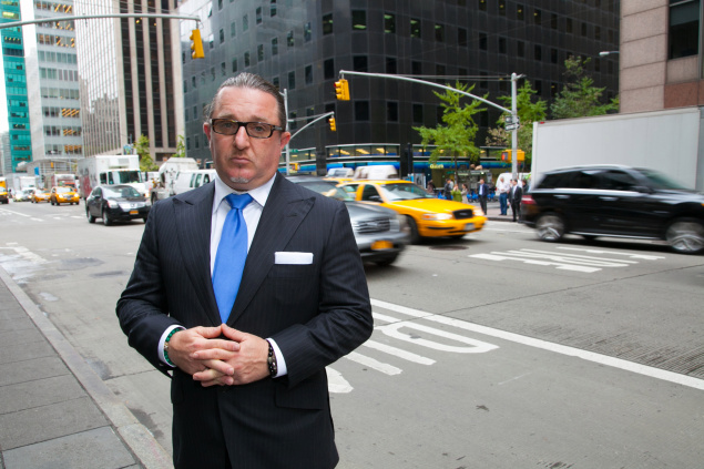 Gene Friedman, CEO of Taxi Club Management, the largest privately held taxi company in the US. (Photo: New York Observer)