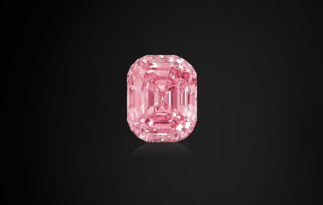 The Graff Pink weighs 14-carats and sold for $46 million in TKTK. Photo: Graff website)