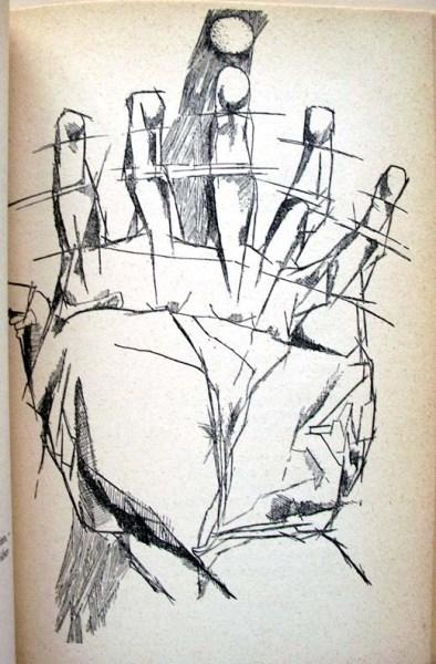 Günter Grass, Die Vorzüge der Windhühner (The Advantages of Windfowl). (Photo: Princeton Graphic Arts Collection)
