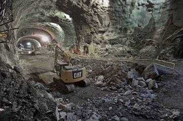 A look at the massive curved space underneath Second Avenue that will become the 96 St. Q station (MTA/Patrick J. Cashin)