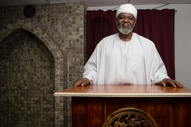 Imam Al-Hajj Talib 'Abdur-Rasi. Photo by Arman Dzidzovic/New York Observer.