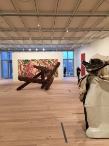 """Installation view of """"America is Hard to See"""" (Photo by Nate Freeman)"""