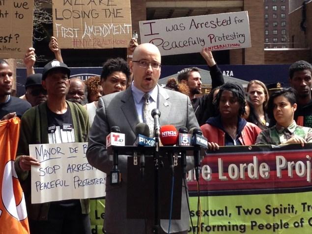 State Senator Gustavo Rivera today (Photo: Will Bredderman/New York Observer).