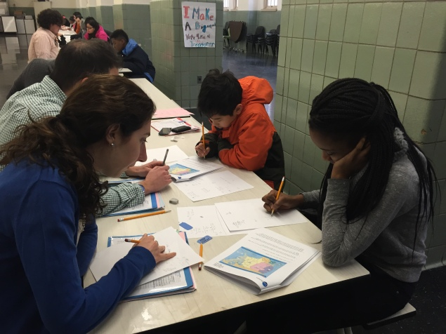 Tutors at Top Honors use exercise games to teach students problem solving, fractions, percentages and more