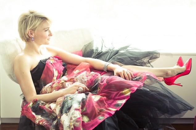 Julie Macklowe in her home