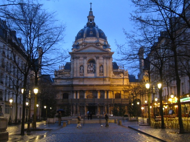 The Sorbonne: A civilized place to study French civilization (Wikimedia)