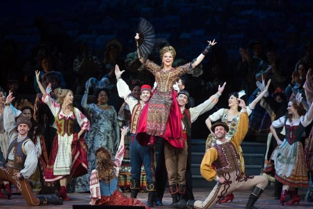 The Merry Widow. (Photo: Marty Sohl/Metropolitan Opera)