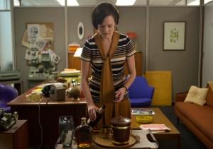 Peggy Olson (Elisabeth Moss). (Photo by Justina Mintz/AMC)