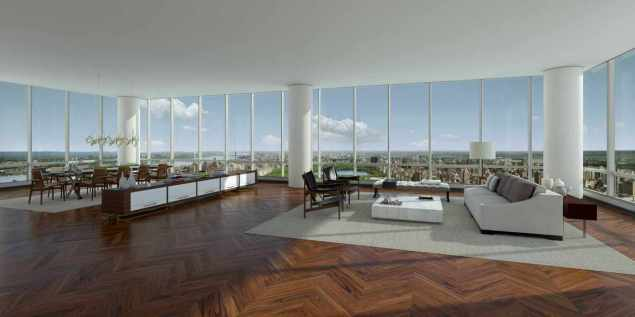 Does Bill Ackman's penthouse look like this?