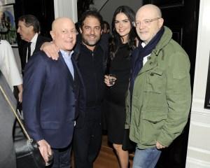 Ronald Perelman, Brett Ratner, Katie Lee, Mickey Drexler (Nicholas Hunt/PatrickMcMullan.com)