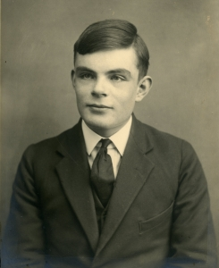 Alan Turing (Photo: The Sherbone School).