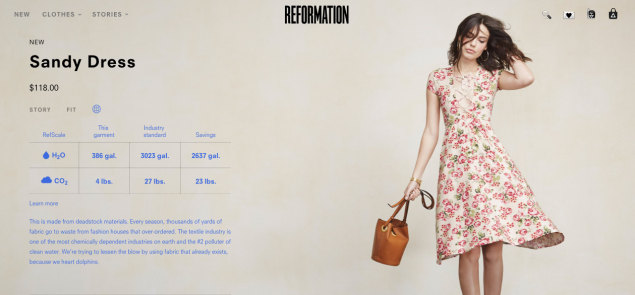 Reformation's newly launched RefScale (Photo: screenshot)