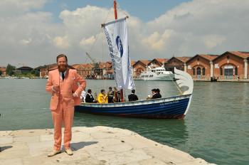 S.S. Hangover, 2013 by Ragnar Kjartansson. Photo by Francesco Galli; Courtesy 2013 Biennale di Venezia