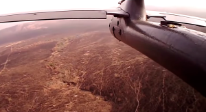 The view from an anti-poacher drone. (Photo: YouTube)