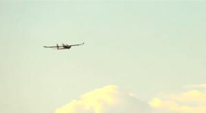 An anti-poacher drone in flight. (Photo: YouTube)